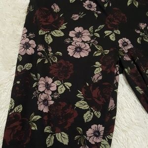 Pants - SOLD!! Flower Joggers